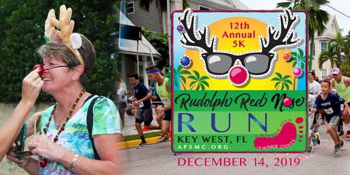 RUDOLPH RED NOSE RUN - 12th Annual A Positive Step 5K