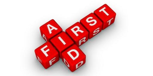 First Aid (Module 10) in Crawley