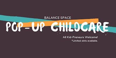Pop-Up Childcare