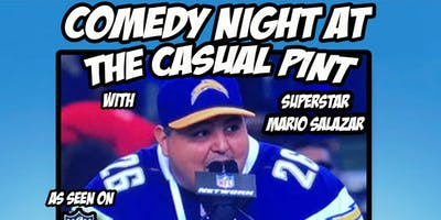Comedy Night at The Casual Pint with Superstar Mario Salazar