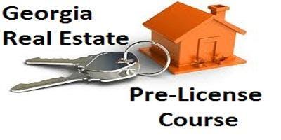 Georgia Salesperson Pre-License - APRIL 2019 - 75 Hour Course / Daily M-F  Peachtree Corners