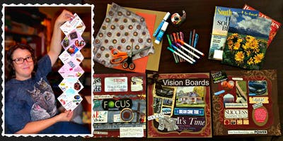 1/23/2019-Unfolding Your Life Vision® Dream Board Workshop in Fort Worth, Texas