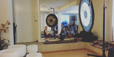 Gong Sound Bath (£12.50) followed by Shamanic Drumming (free)
