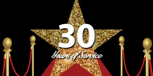 HUB Gala-Celebrating 30 Year's of Service