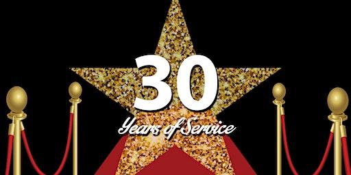 HUB Gala-Celebrating 30 Year's of Service