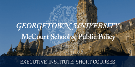 August 2019 Executive Institute:  Introduction to Public Budgeting tickets