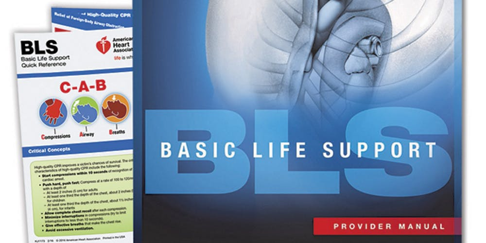 Aha Bls Provider Certification Includes Free Provider Manual