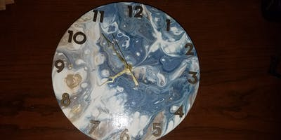 Make Your Own Wall Clock (2 Part Class)