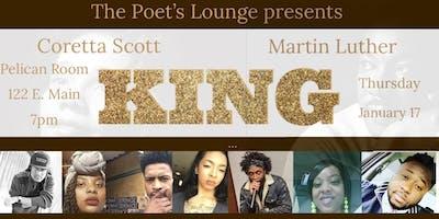 Poet's Lounge Presents: KING