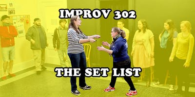 Improv 302 - The Set List - 8-week Comedy Course