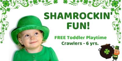 Shamrockin' Fun   Free Toddler Playtime   Crawlers - 6 yrs.