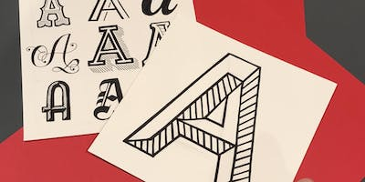 Understanding Letterforms- Hand Lettering workshop by Hayley Barry