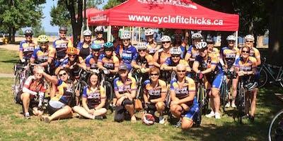 CycleFitCHICKS Spring Social- Thursday April 18: OTTAWA Registration & Info session