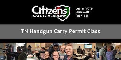 TN Handgun Carry Permit Class