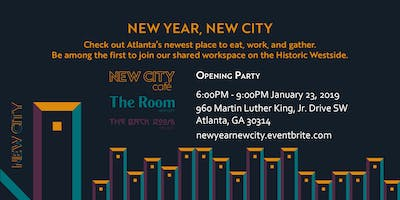 RESCHEDULED: New Year, New City