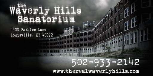 Jr. Ghost Hunters Night/ Under 18 Night / 6 Hour Paranormal Investigation at Waverly Hills Sanatorium