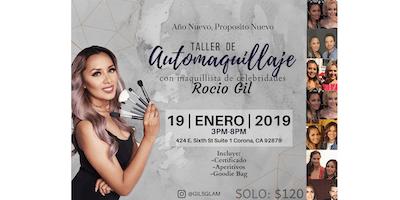 Taller de Automaquillaje con Maquillista de Estrellas 'Rocio Gil'
