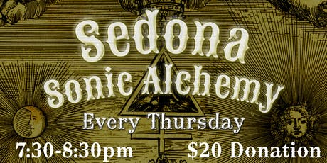 Sedona Sonic Alchemy tickets