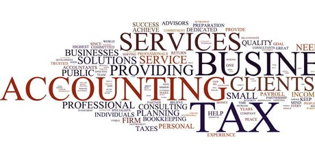 Accounting Tutor, Bookkeeping and  Income Tax Return tickets