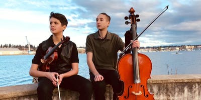 Dante and Eros Faulk | An Olympia Cello/Fiddle Folk Duo Concert