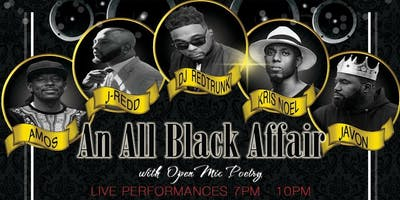 The All Black Affair Jazz and Coffee Night
