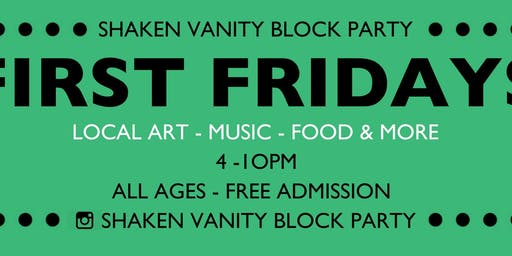 First Friday's Block Party