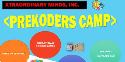 XTRAORDINARY MINDS, INC PREKODERS CAMP (AGES 3-6)