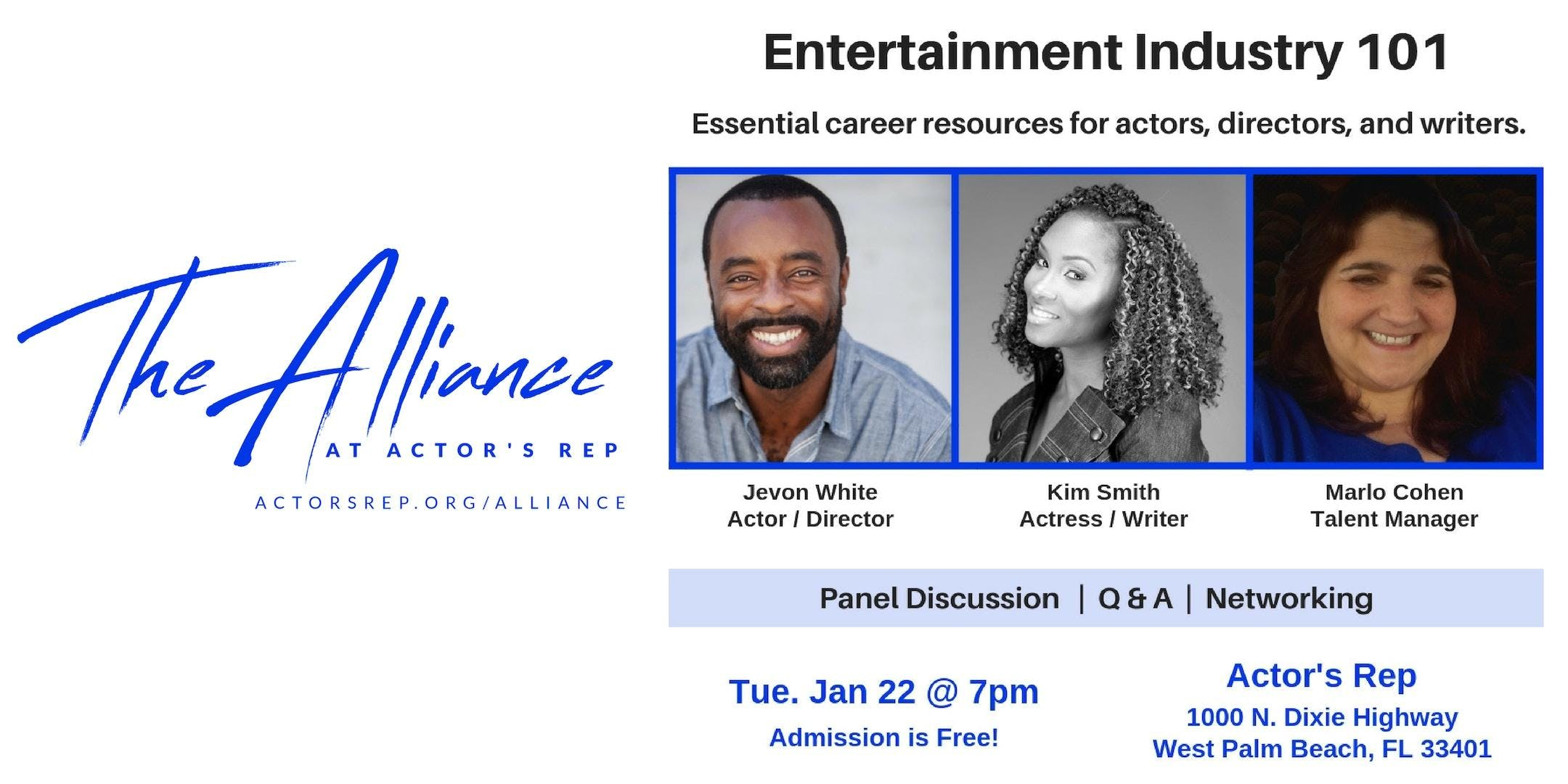 The Alliance: Theatre and Film Industry Event