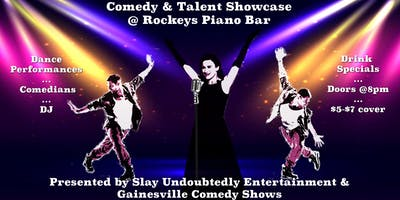 Comedy & Talent Showcase at Rockeys Piano Bar Weds 1/16
