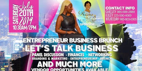 Entrepreneur Business Brunch tickets