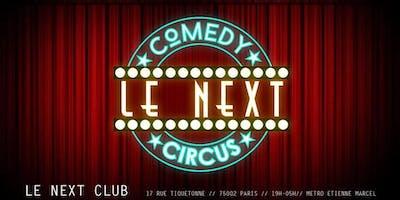Le Next Comedy Circus Saison 2