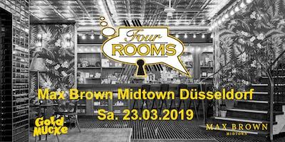 Four ROOMS im Max Brown Hotel Düsseldorf