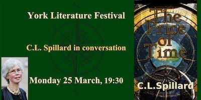 Cl Spillard Conversation York Literature Festival