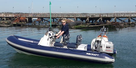 Powerboat Taster Session Evening - (Includes driving the RIB- 2 People) tickets