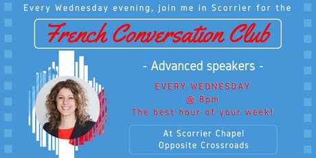 French Fun Conversation Club Scorrier (Intermediate & Advanced) tickets
