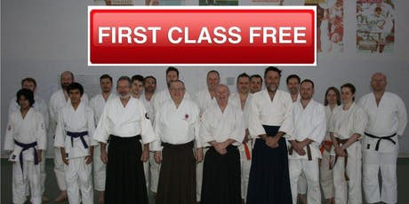 Learn Martial Art of Aikido - First Class FREE tickets