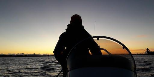 Night time Powerboating Skills