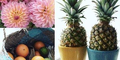 WORKSHOP Fruits & Flowers, Dekoration für Tisch und Raum