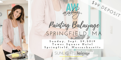 Massachusetts Painting Balayage with Abby Warther DEPOSIT