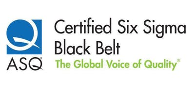 Certified Six Sigma Black Belt (CSSBB) Preparation Course