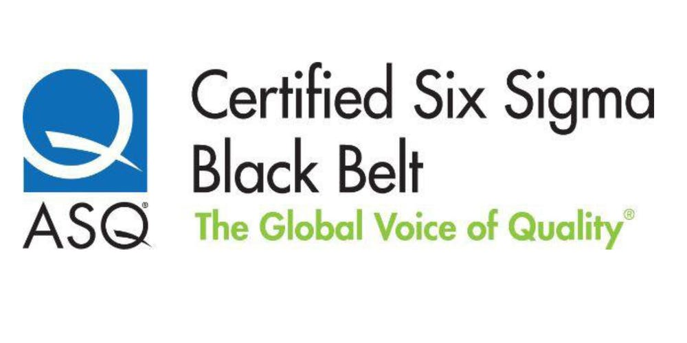 Certified Six Sigma Black Belt Cssbb Preparation Course Tickets