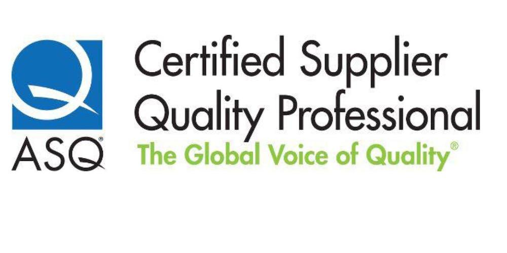 Certified Supplier Quality Professional Csqpe Preparation Course