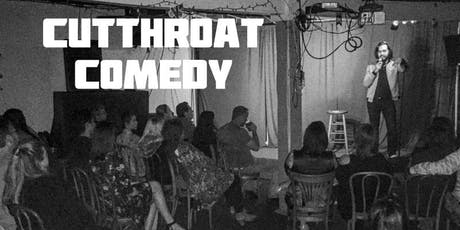 Cutthroat Comedy Open Mic at PJ's. Cheap Drinks and No Cover tickets