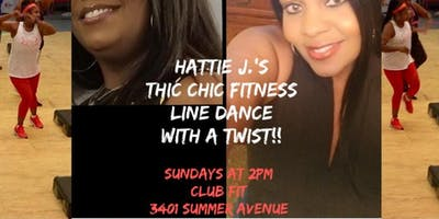 Hattie's LINE DANCE with a TWIST