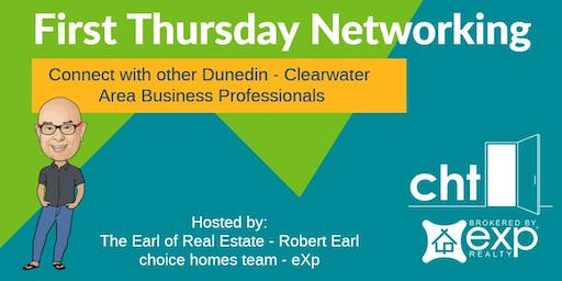 November 2019 First Thursday Networking in Dunedin with Robert Earl  / Choice Homes Team - eXp