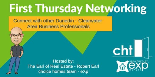 December 2019 First Thursday Networking in Dunedin with Robert Earl  / Choice Homes Team - eXp
