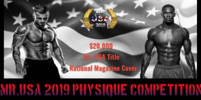 2019 MR.USA Competition
