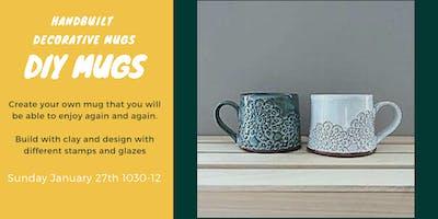 Make Your Own Mug - Handbuilding clay workshop
