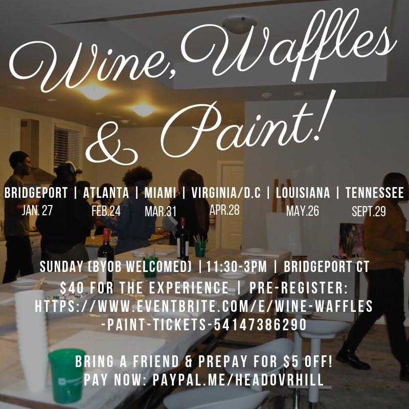 Wine, Waffles & Paint (Atlanta)