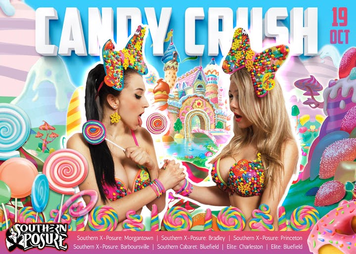 Candy Crush Tickets Sat Oct 19 2019 At 800 Pm Eventbrite